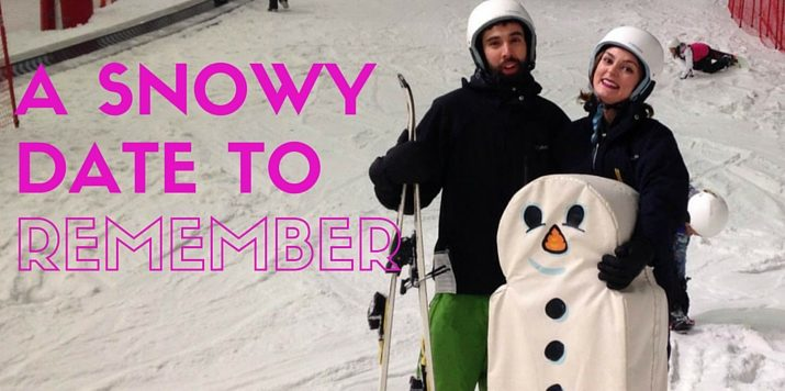 A snowy date to remember…