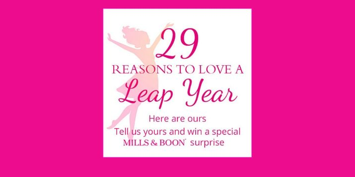 29 reasons to love Leap Year…
