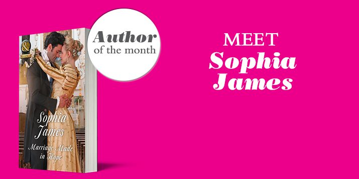 Sophia James talks about The Penniless Lords miniseries