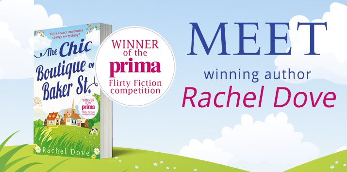 Meet our Prima winning author Rachel Dove!