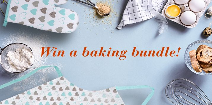 Become a star baker and win our baking bundle!