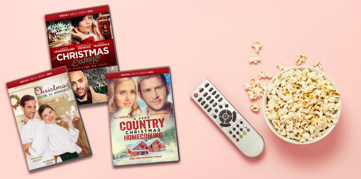 Get into the festive spirit with these Christmas movies based on Mills & Boon books!