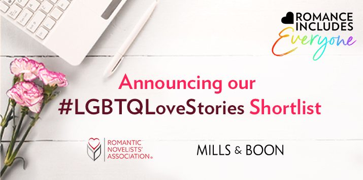Announcing our Romance Includes Everyone shortlisted authors!