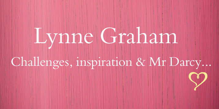Romance author Lynne Graham talks about her writing career