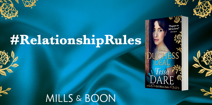Tessa Dare shares relationship rules from new novel The Duchess Deal