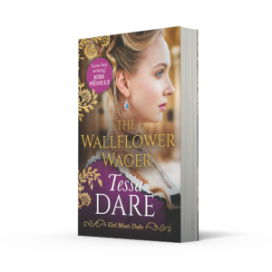 The Wallflower Wager packshot