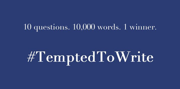 Are you #TemptedToWrite?