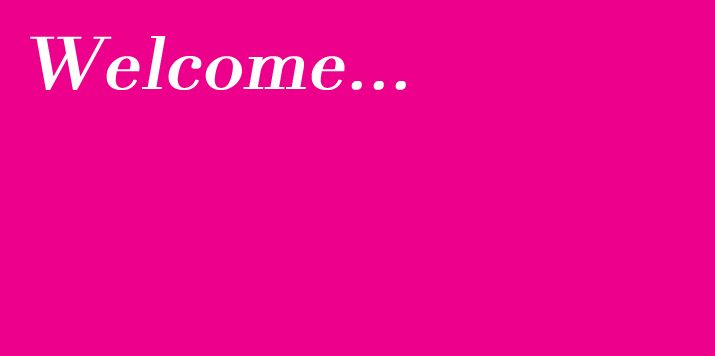 Welcome to the new Mills & Boon website!