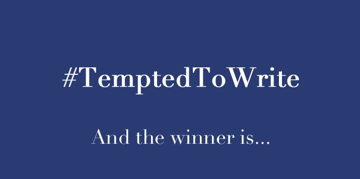 #TemptedToWrite – The winning story