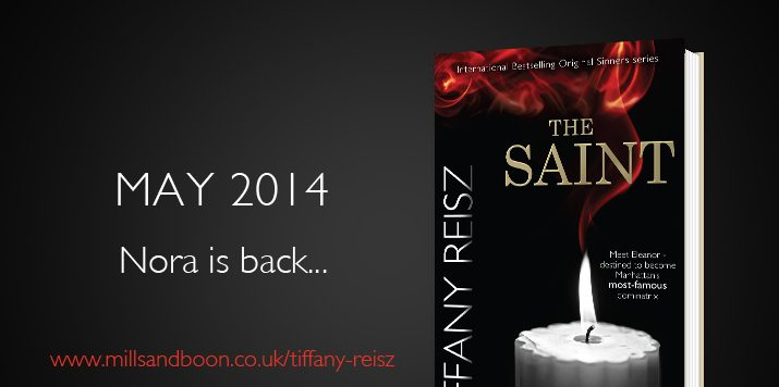 Tiffany Reisz news: it's back to the beginning
