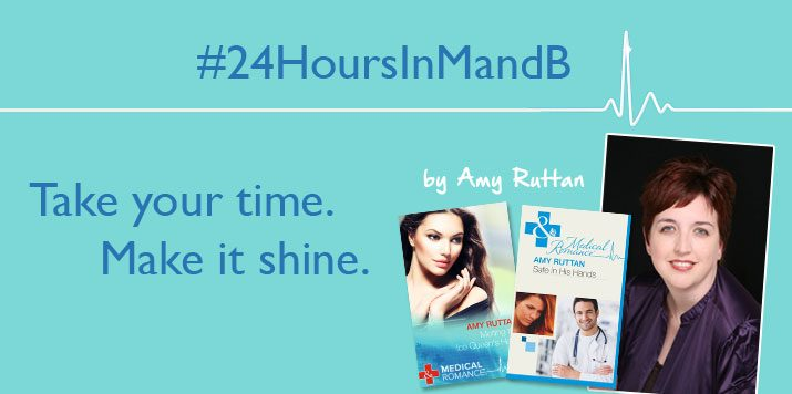 #24HoursInMandB – Take your time. Make it shine. – by Amy Ruttan