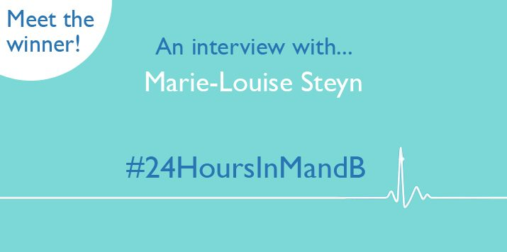 Meet the winner of #24HoursInMandB!