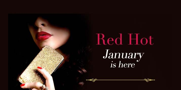 Red Hot January at Mills & Boon