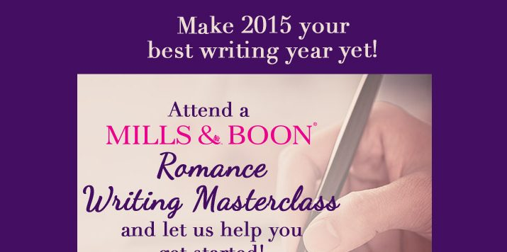 New Mills & Boon Romance Writing Class Date Announced!