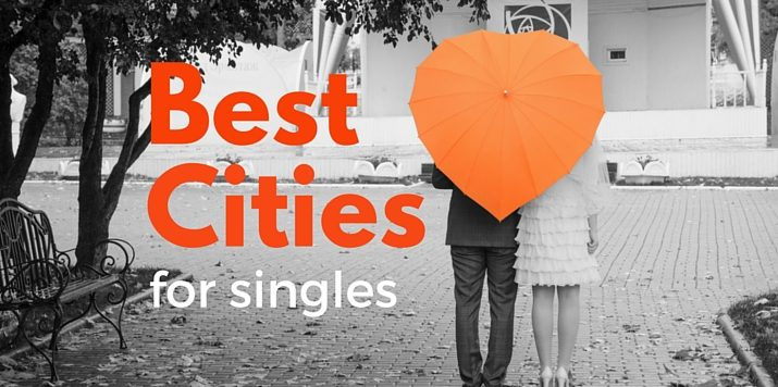 Single? Why don't you try moving to one of these cities?