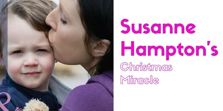 Susanne Hampton on her own Christmas miracle