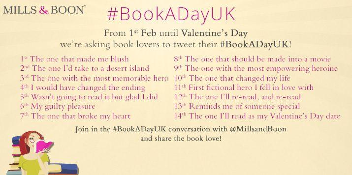 Join us on Twitter for #BookADayUK