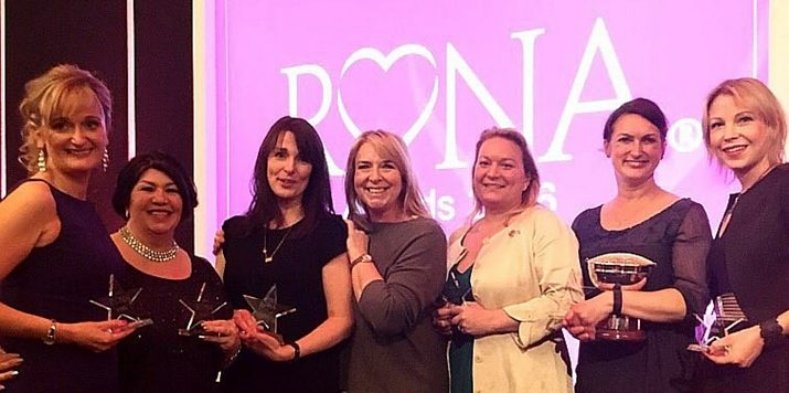 Presenting Mills & Boon's RoNA 2016 winners…