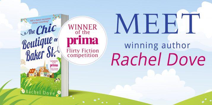 Meet our Prima winning author Rachel Dove!