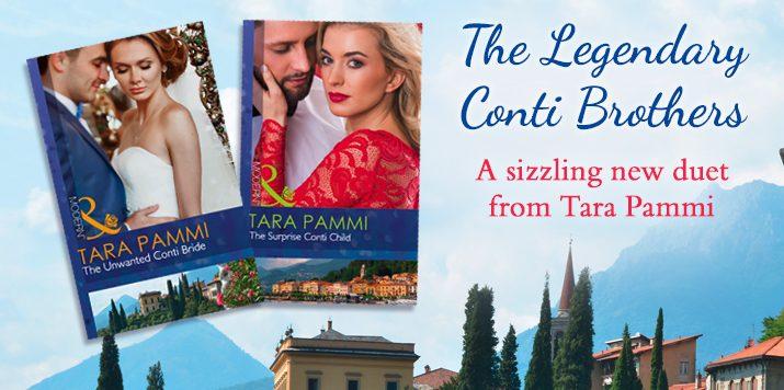 Tara Pammi talks The Legendary Conti Brothers
