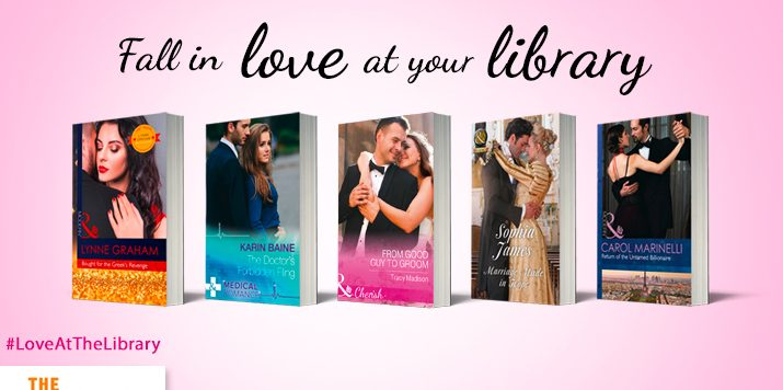 Kate Walker talks #LoveAtTheLibrary!