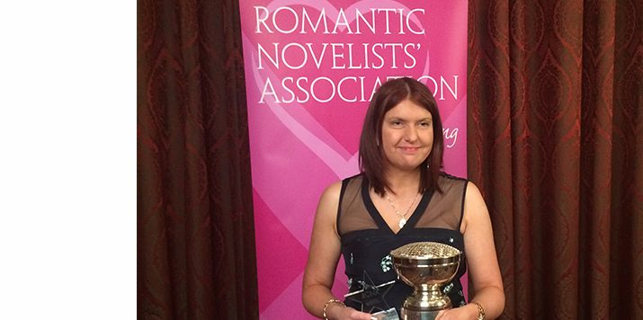 Scarlet Wilson wins RoNA Rose Award