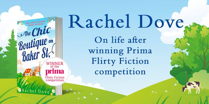 Last year's Prima writing competition winner Rachel Dove discusses life after winning