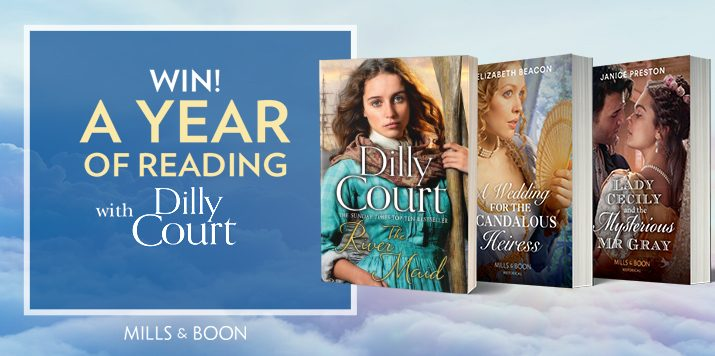 Win a Year of Reading with Dilly Court!