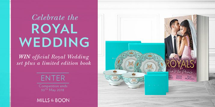 Win an official Royal Wedding set plus a limited edition book!