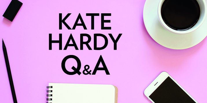 In conversation with romance author Kate Hardy