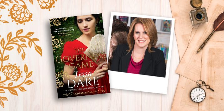 Q&A with New York Times bestseller Tessa Dare