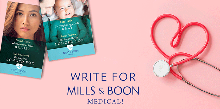 Could you be our next Mills & Boon Medical Romance author?