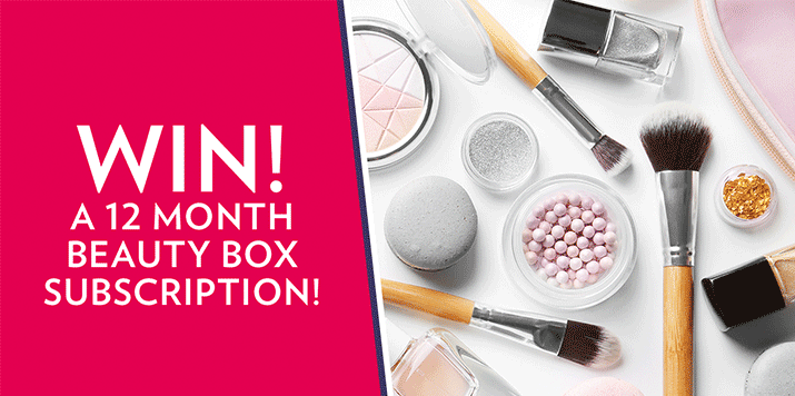 Win a year's worth of beauty products!