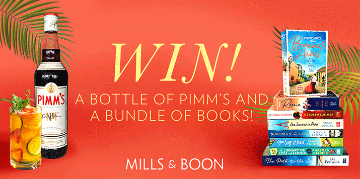 Win Pimm's and books, the perfect summer treat!