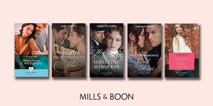 Announcing Mills & Boon's shortlisted books for the Romantic Novel Awards 2020