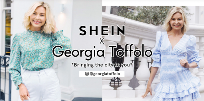 Meet Me in London: Georgia Toffolo's romance heroines as #SHEINgals