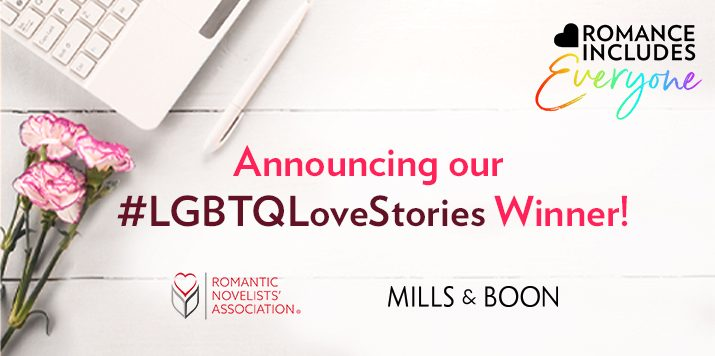 Announcing the Winner of our LGBTQI+ Romance Competition!